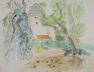 Raoul Dufy, 'Le Moulin de Terssac et la mare aux canards', 1947-1948