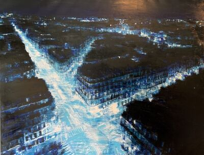Tommaso Ottieri, '(KFS) Parigi Notte Blu', 2018