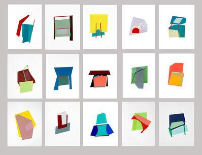 Bettina Vaz Guimarães, 'Elementos terra | Polyptic of 20 each 31x23 cm', 2018