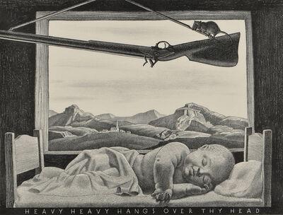 Rockwell Kent, 'Heavy Heavy Hangs Over Thy Head', 1946