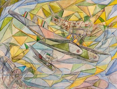 Uberto Bonetti, 'Trasvolata atlantica', anni 30