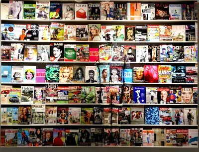 Liu Bolin, 'Spain Magazines', 2017
