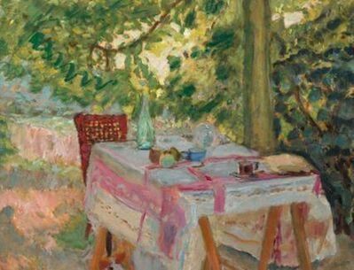 Pierre Bonnard, 'Table Set in a Garden', ca. 1908