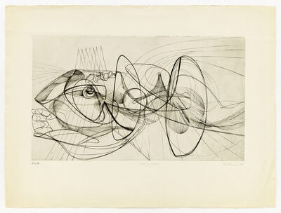 Stanley William Hayter, 'Death By Water', 1948