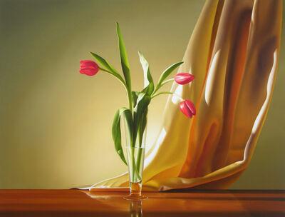 Michael Zigmond, 'Three Red Tulips', 2014