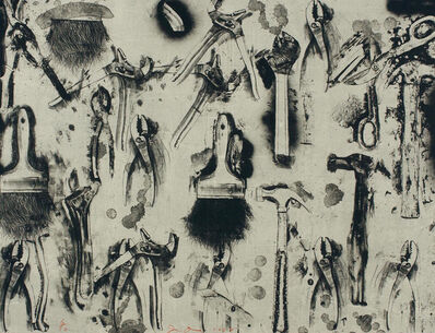 Jim Dine, 'Tools in the Earth', 2007