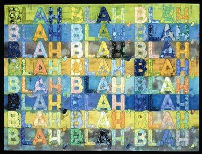 Mel Bochner, 'Blah Blah Blah', 2016