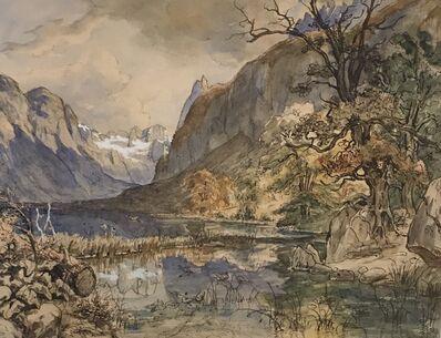 Thomas Fearnley, 'Lake Gosau, near Salzburg', 1837/8