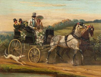 Henri De Montpezat, 'L'Attelage des mariés'