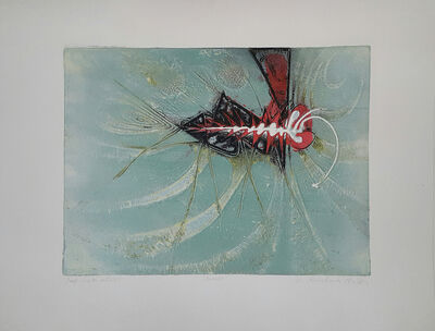Krishna Reddy, 'insect(butterfly)', 1952