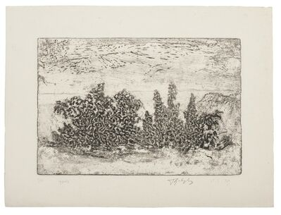 Unknown, 'Landscape', 1969