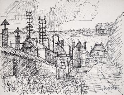 Marcel Gromaire, 'View d'un Village (View of a Village)', 1900s