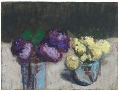 Klaus Fussmann, 'Blumenstillleben mit Pfingstrosen', 1990