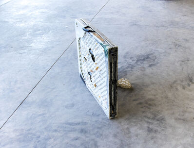 Bat-Ami Rivlin, 'Untitled (desk, foam, cement)', 2018
