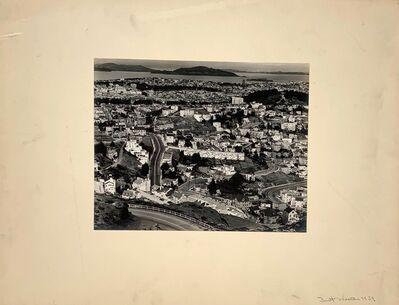 Brett Weston, 'Looking North from Twin Peaks, (Angel Island and Alcatraz)', 1939