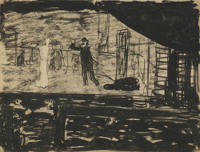 Édouard Vuillard, 'Répétition sur la scène', 1890-1891