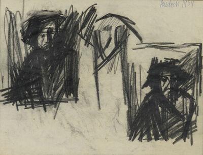 Frank Auerbach, 'Self-Portrait', 1954-1955