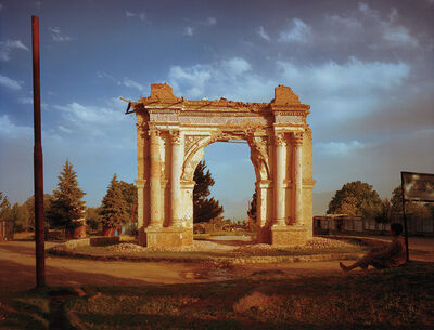 Simon Norfolk, 'King Amanullah's Victory Arch built to celebrate the 1919 Independence from the British. Paghman, Kabul Province', 2003