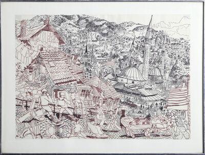 Red Grooms, 'Sarajevo', 1969