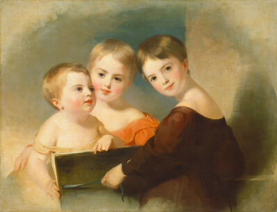 Thomas Sully, 'The Vanderkemp Children', 1832