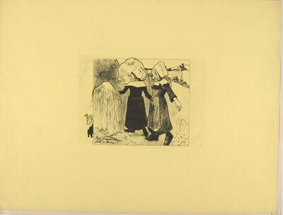Paul Gauguin, 'The Joys of Brittany', 1889