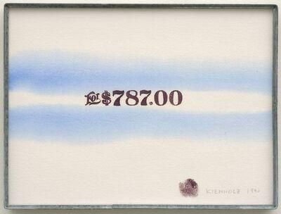 Edward Kienholz, 'For $787.00', 1990