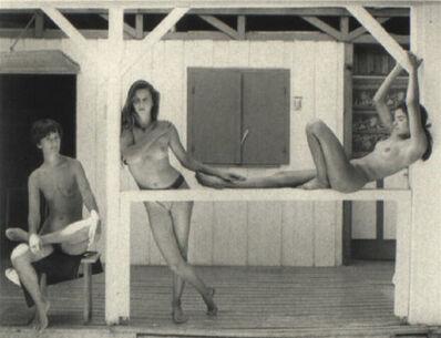 Jock Sturges, 'Marie, Ilka, Myriam, Sonja et Alesandra', 1989