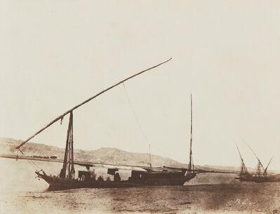 John Beasley Greene, 'Untitled (Boats on the Nile)', 1853-1856