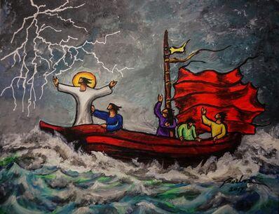 Francisco Borboa, 'Jesus Calms the Storm 平息風浪'