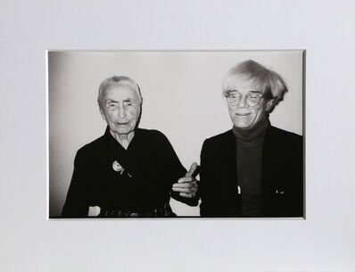 Christopher Makos, 'With Georgia O'Keeffe (Warhol: Ten Images)', 1983 (Printed in 1989)