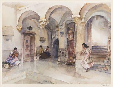 William Russell Flint, 'La Mairie, Manosque', 1960