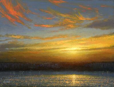 Ken Salaz, 'Sunset over Palisades', 2019