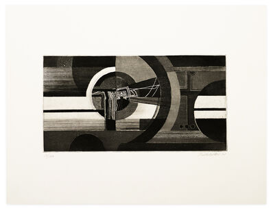 Johannes Birkholzer, 'Abstract Composition', 1970