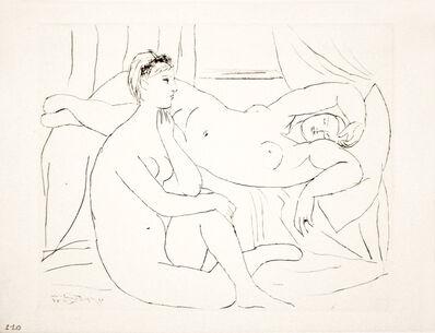 Pablo Picasso, 'Deux Femmes se reposant (S.V. 10)', 1931