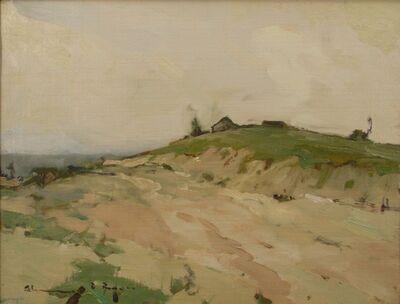 Chauncey Ryder, 'Misty Hills', ca. 1915