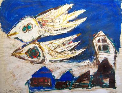 Karel Appel, 'Birds Over the Village', 1952