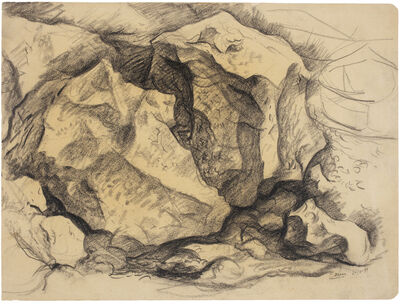Antonio Berni, 'Sin Título (Córdoba)', 1951