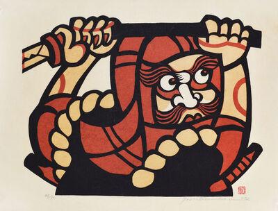 Yoshitoshi Mori, 'A Rambunctious Monk', 1972