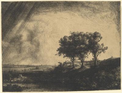 Rembrandt van Rijn, 'The Three Trees', 1643