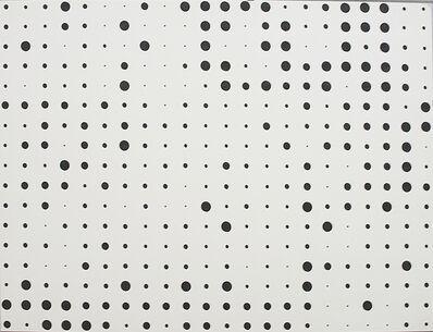 herman de vries, 'random dots v71–05', 1971