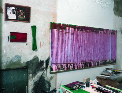 Danilo Dueñas, '4 pinturas en el taller', 2016