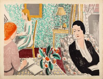Vanessa Bell, 'The school room'