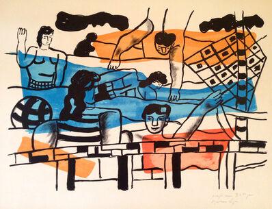 Fernand Léger, 'La piscine from La Ville', 1959