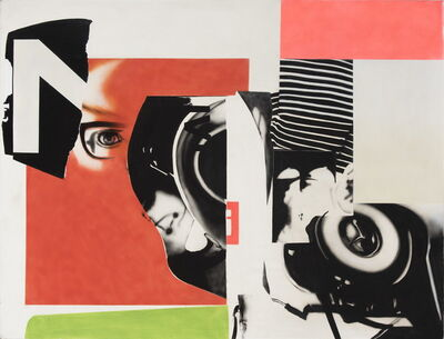 Peter Klasen, 'Passager clandestin', 1966