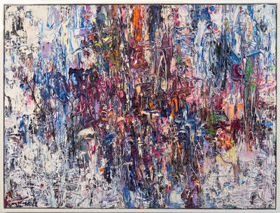 Adam Cohen, 'Air Prism - colourful, impasto, abstract expressionist, acrylic on canvas', 2021
