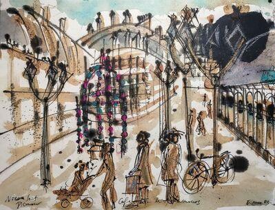 Norma de Saint Picman, 'Souvenirs de Paris - L'enfance, Café Bar Les Nemours', 2003
