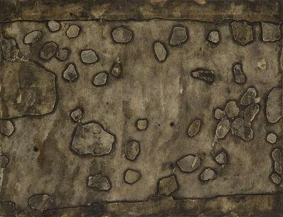 Jean Dubuffet, 'Topographies Pierres sur le chemin', 1958