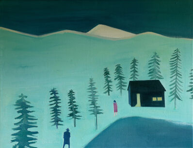 Tom Hammick, 'Cloudy Mountain', 2015