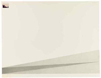 Giovanni Anselmo, 'Senza titolo. Teoria dell'Ombra', 1973