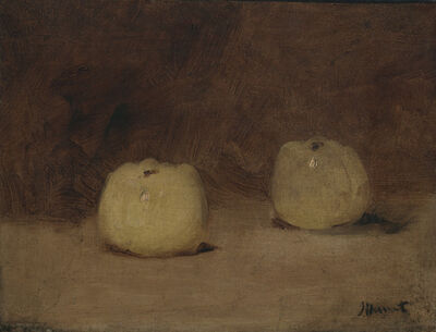 Édouard Manet, 'Still Life with Two Apples', ca. 1880